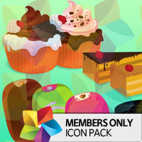 Premium Icon Pack: Sweets