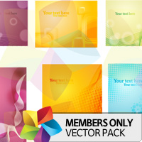 Premium Vector Pack: Abstract Cards