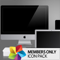 Premium Icon Pack: Apple Mac