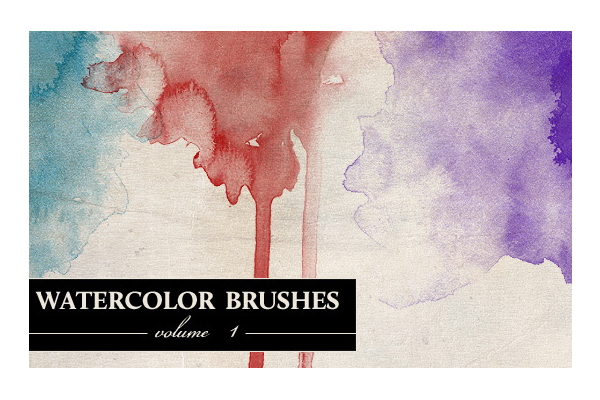 34 Free Watercolor and Artistic Photoshop Brush Sets | PSDFan