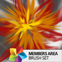Premium Brush Set: Burst