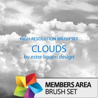 Premium Brush Set: Clouds