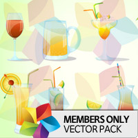 Premium Vector Pack: Cocktails