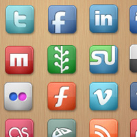 32 Fresh & Free Social Media Icon Packs