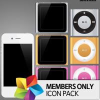 Premium Icon Pack: iDevices 2
