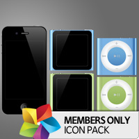 Premium Icon Pack: iDevices
