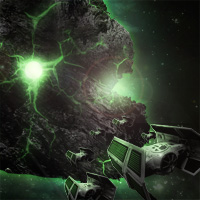 Members Area Tutorial: Photo Manipulate a Radioactive Asteroid Scene