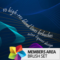 Premium Brush Set: Blend Lines
