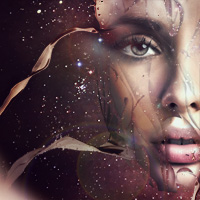 Design a Futuristic Abstract Portrait