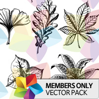 Premium Vector Pack: Leaves