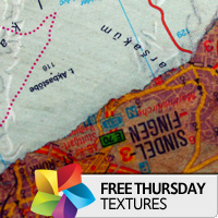 Texture Thursday: Map Art