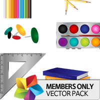 Premium Vector Pack: School