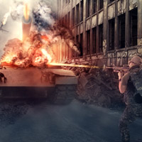 Photo Manipulate a Dramatic Battle Scene in Photoshop