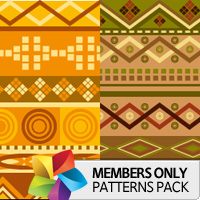 Premium Patterns Pack: African