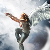 Members Area Tutorial: Photo Manipulate a Complex Falling Angel Scene