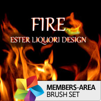Premium Brush Set: Fire