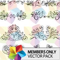 Premium Vector Pack: Frames