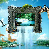 Design a Scenic Out of Frame Photo Manipulation
