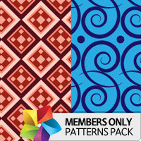 Premium Patterns Pack: Bright and Abstract