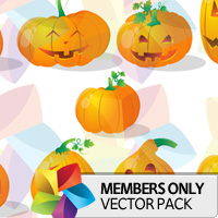 Premium Vector Pack: Pumpkins