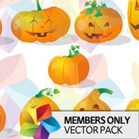 Premium Vector Pack: Pumpkins