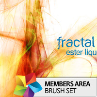 Premium Brush Set: Fractal Lights
