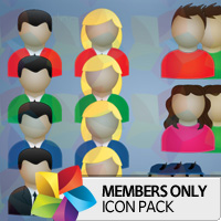 Premium Icon Pack: People