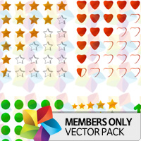 Premium Vector Pack: Rating