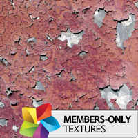 Premium Texture Set: Red Rust