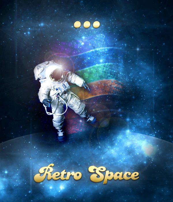 Дизайн космического постера в photoshop
