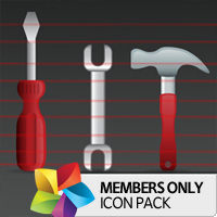 Premium Icon Pack: Tools