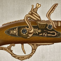Members Area Tutorial: Create a Vintage Gun From Scratch Using Photoshop
