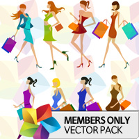 Premium Vector Pack: Girls