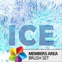 Premium Brush Set: Ice
