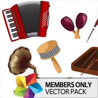 Premium Vector Pack: Music