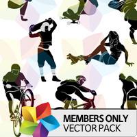 Premium Vector Pack: Urban Silhouettes