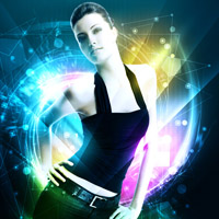 Members Area Tutorial: Design a Colorful and Futuristic Photo Manipulation