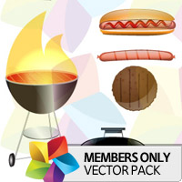 Premium Vector Pack: Barbeque