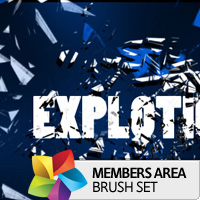 Premium Brush Set: Explotion
