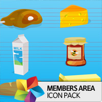 Premium Icon Pack: Groceries