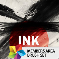 Premium Brush Set: Ink
