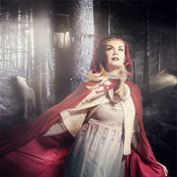 Members Area Tutorial: Create a Sinister Little Red Riding Hood Photo Manipulation