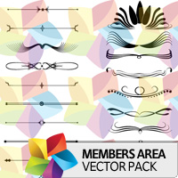Premium Vector Pack: Page Decorations