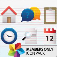 Premium Icon Pack: Shiny
