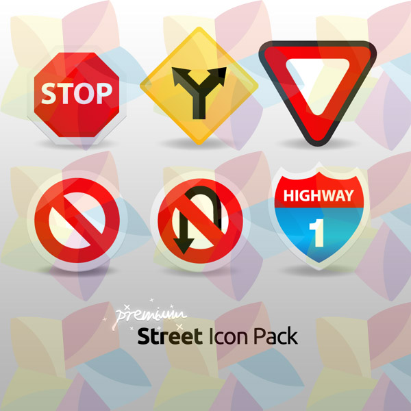 premium icon pack street icons psdfan