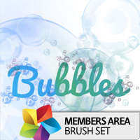 Premium Brush Set: Bubbles
