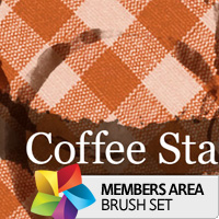 Premium Brush Set: Coffee Stains