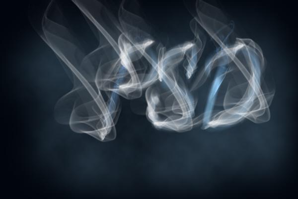 create a smoke text effect using photoshop u2019s non