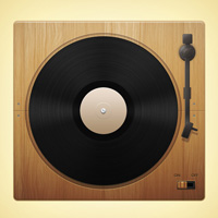 Members Area Tutorial: Create a Wooden Record Deck Using Photoshop's Vector Capabilities