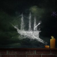 Photo Manipulate an Eerie Smoke Ship Composition